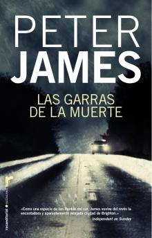 Las garras de la muerte : Peter James - Roca Libros