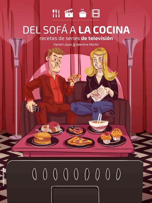 Resultado de imagen de DANIEL LÓPEZ, VALENTINA MORILLO - Recetas de series