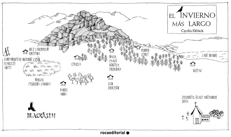El mapa del invierno ms largo