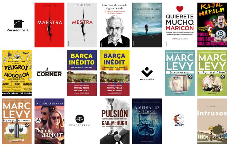 Libros marzo 2016 Roca Editorial