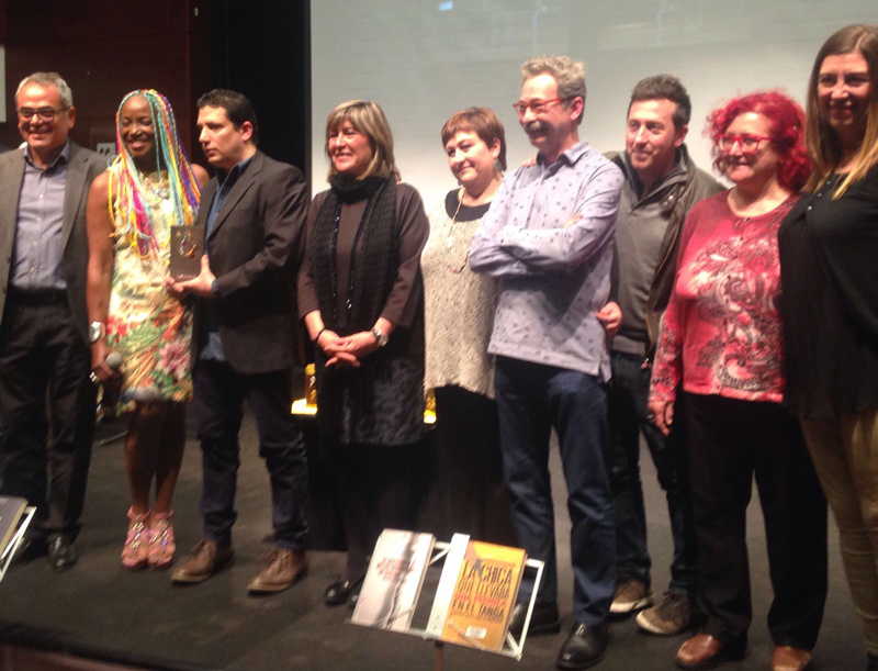 Foto de familia del premio LH Confidencial