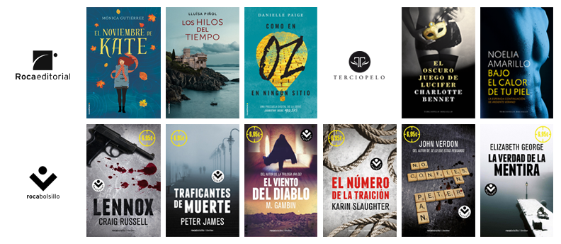 Libros de julio en Roca Editorial