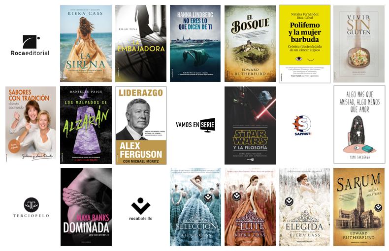 Libros de noviembre en Roca Editorial