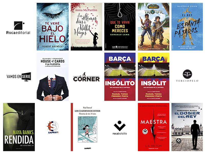 Libros de marzo 2017 en Roca Editorial