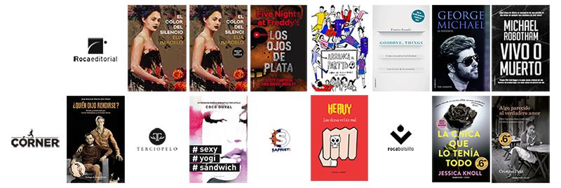 Libros de mayo 2017 en Roca Editorial
