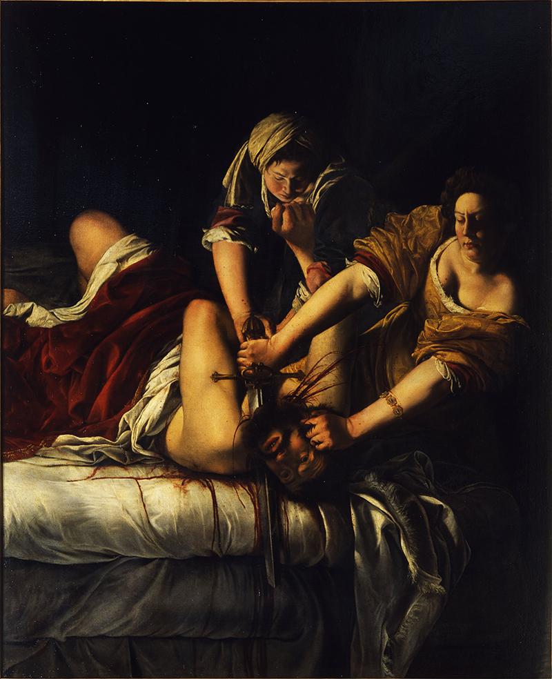 Artemisia_Judith decapitando a Holofernes
