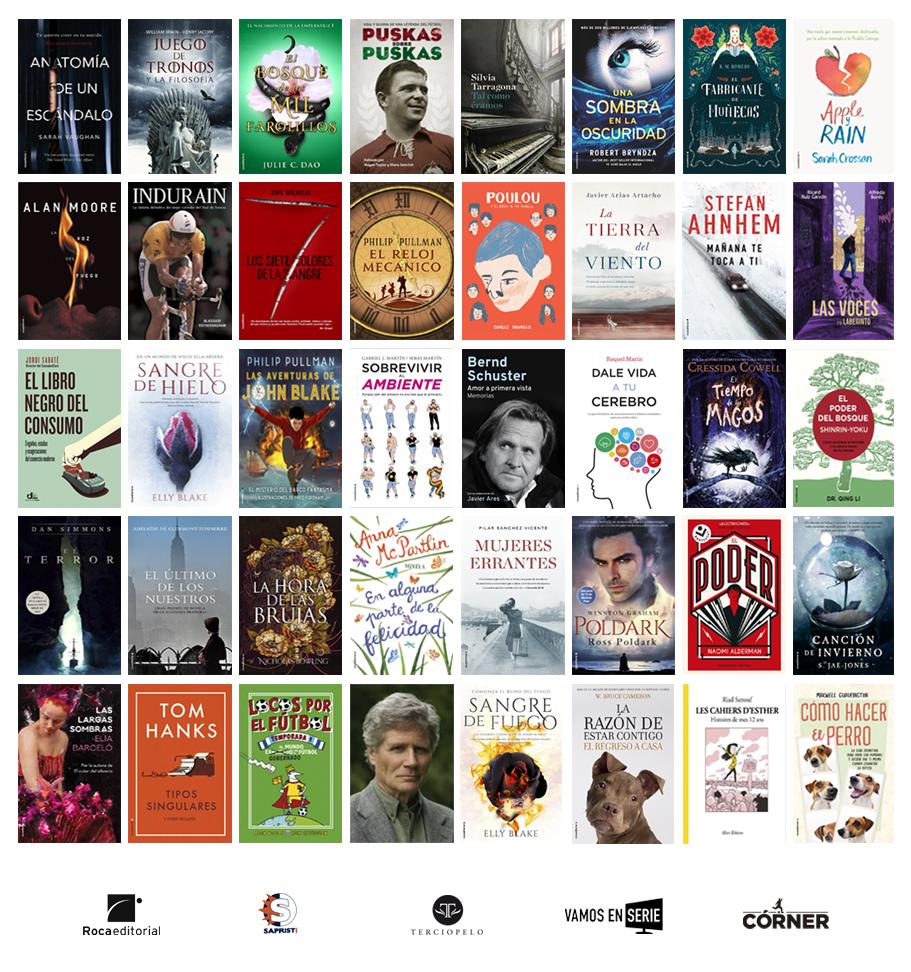Novedades literarias de 2018 en Roca Editorial