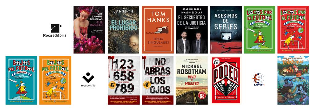 Libros de mayo 2018 en Roca Editorial