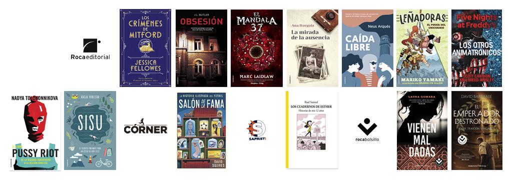 Libros de septiembre 2018 en Roca Editorial