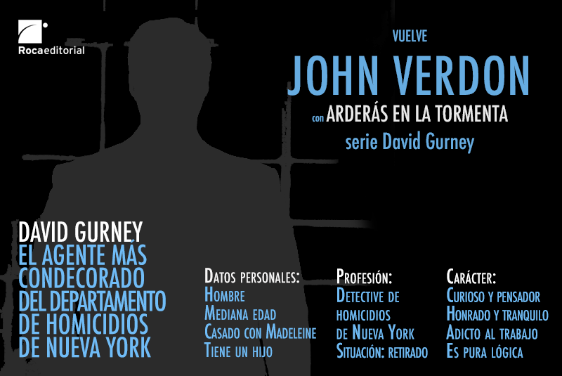 El perfil del detective David Gurney