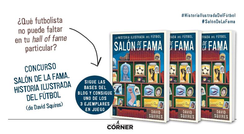 Concurso Saln de la fama Historia ilustrada del ftbol