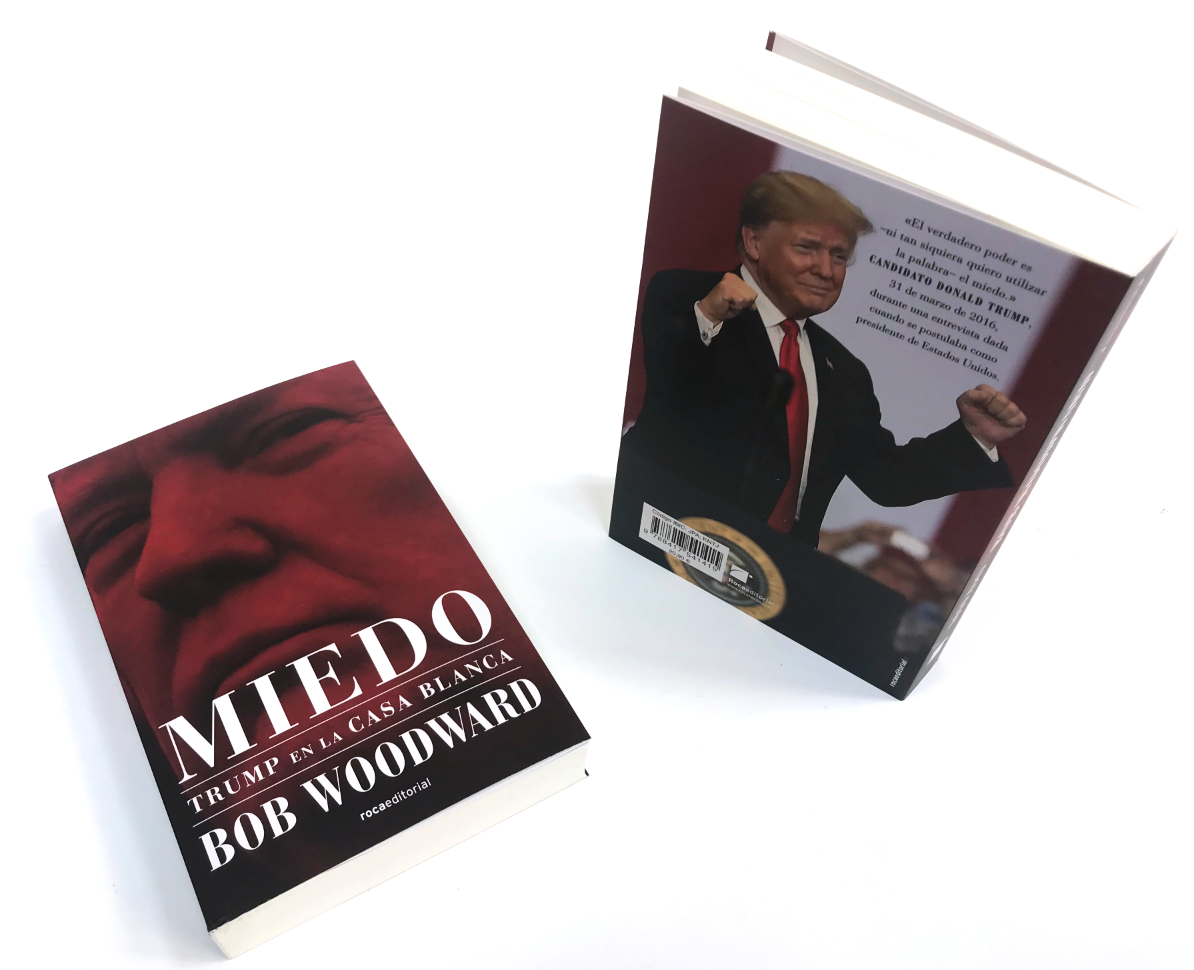 Miedo Trump en la Casa Blanca de Bob Woodward
