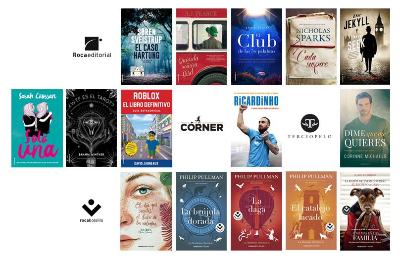 Libros de enero Roca Editorial