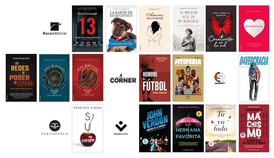 Libros de mayo 2019 en Roca Editorial