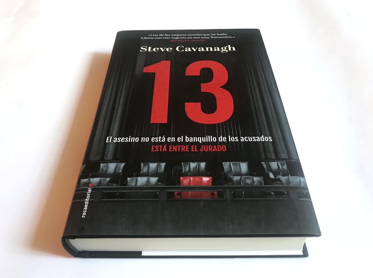 13 Steve Cavanagh