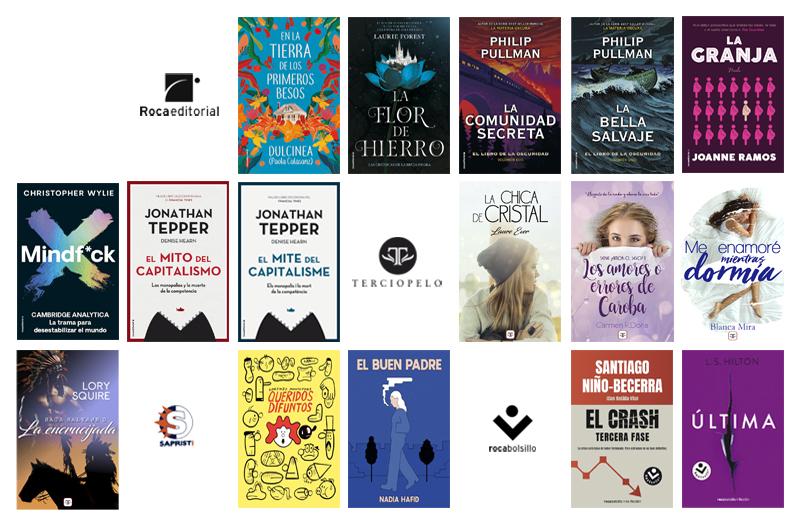 Libros de marzo 2020 de Roca Editorial