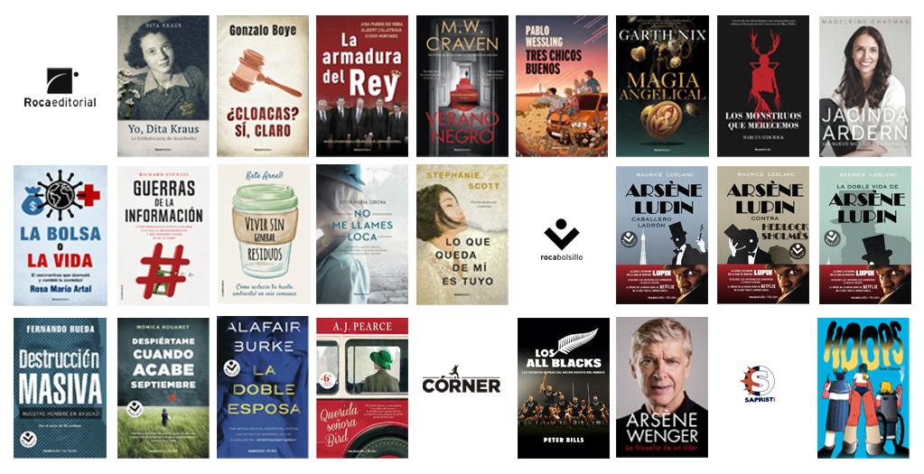 Libros de marzo 2021 en Roca Editorial