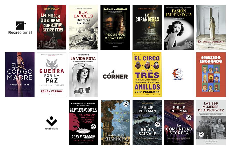 Libros de junio 2021 en Roca Editorial