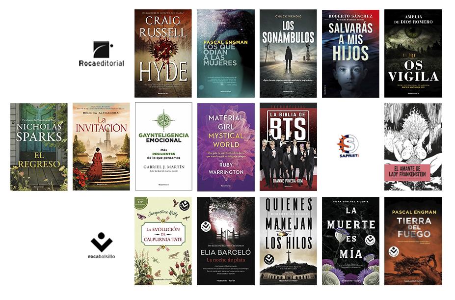 Libros de septiembre 2021 en Roca Editorial